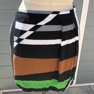 4/$20 Derek Lam for Design Nation colorblock skirt
